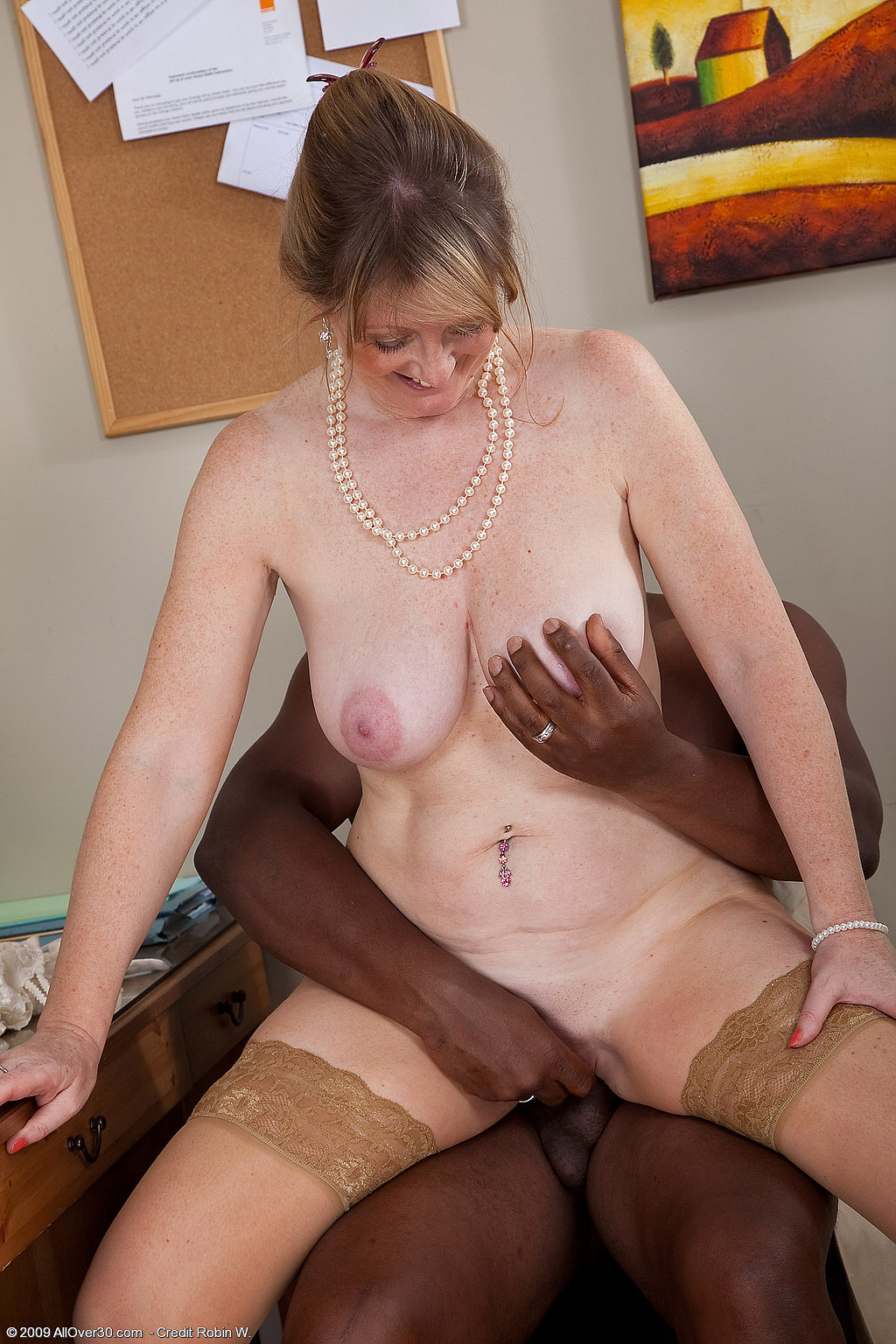 Hot black amatuer milf