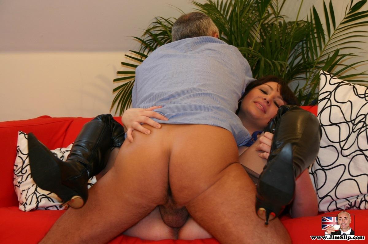 British slut in the sauna gets bbc in her hairy pussy 8