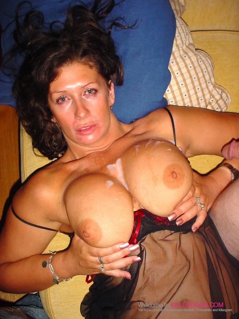 Mature big tits alice