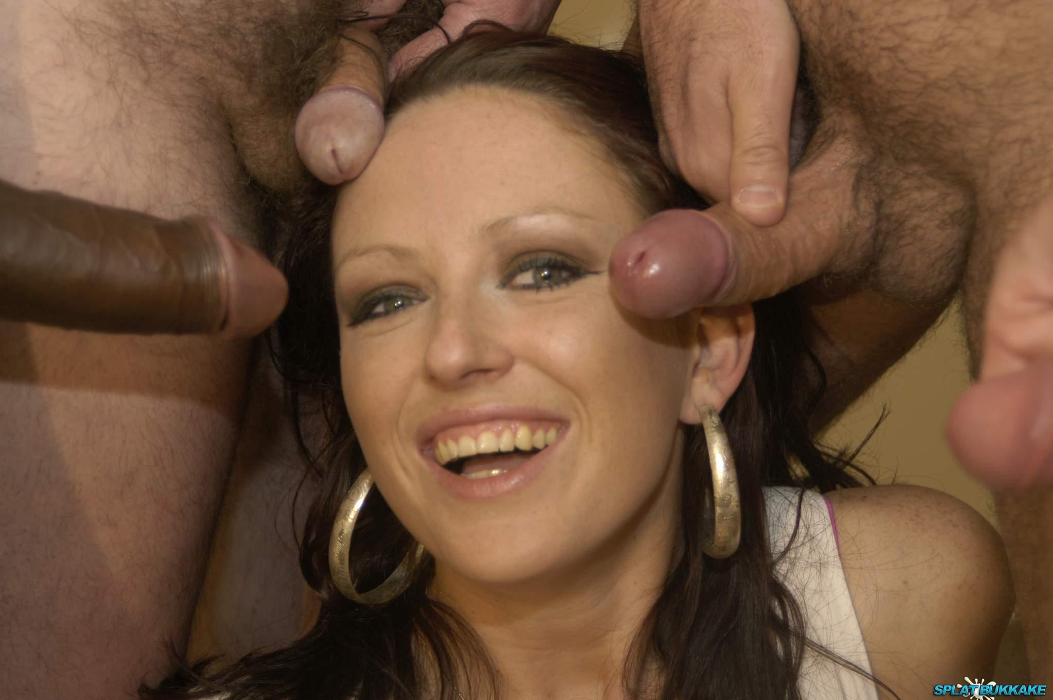 Amateur Bukkake Porn amateur facial bukkake shoot for british babe roxy roxx