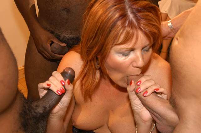 British Bukkake Porn Pics
