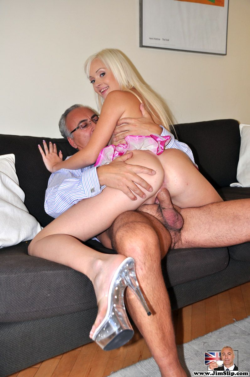 He licked her clit office boss